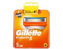 Gillette Fusion 5 Manual Náhradní hlavice 1x5ks