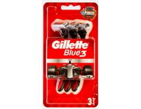 Gillette Blue3 Red Holítko pohotové 1x3ks