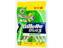 Gillette Blue3 Sensitive holítka 1x(9+3)ks