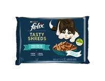 Felix Tasty Shreds pro kočky losos+tuňák 4x80g