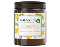 Botanica by Air Wick Svíčka svěží ananas a tuniský rozmarýn 1x205g