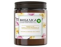 Botanica by Air Wick Svíčka vanilka a magnólie 1x205g