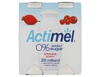 Actimel bez přidaného cukru šípek/brusinka chlaz. 6x4x100g