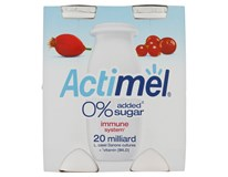Actimel bez přidaného cukru šípek/brusinka chlaz. 4x100g