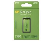 Baterie GP ReCyko 9V 1ks