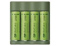 Nabíječka baterií GP Charger B421 + AA 4ks + USB