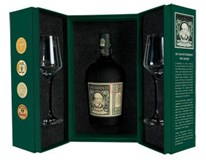 Diplomático Reserva Rum Exclusiva 12yo set 40% 1x700ml