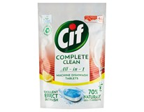Cif Complete Clean All in 1 Lemon Tablety do myčky nádobí 1x46ks