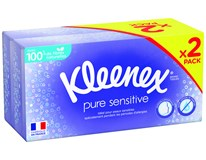 Kleenex Sensitive Kapesníčky 2x72ks box