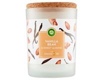 Airwick Essential Oils Vanilka&sladké mandle Svíčka parfémovaná 1x185g