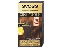Syoss Oleo Intense Barva na vlasy dlouhotrvající olejová (Půvabně hnědý 5-86) 1ks