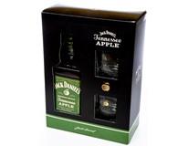 Jack Daniel's Apple 35% 6x700ml + 6x sklenička