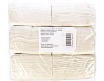 Ubrousky 24x24cm 1-vrstvé bílé 1x1000ks