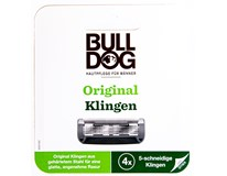 Bulldog Original Blades 3'S Náhradní holicí hlavice 1x4ks