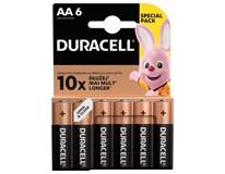 Baterie Duracell Basic AA 6ks