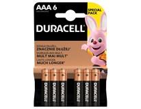 Baterie Duracell Basic AAA 6ks