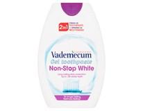 Vademecum Zubní pasta gelová 2v1 Non-Stop White 1x75ml