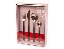 Sada příborů na Sushi 24-dílná černá 1ks