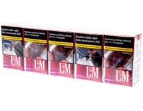 L&M Red Label king size tvrdé bal. 10krab. 20ks kolek Z KC 112Kč VO cena