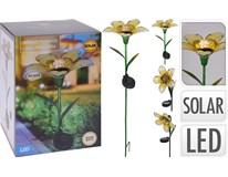 Květina solární zapichovací 3ASS 1ks