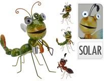Dekorace solární hmyz 4ASS 1ks
