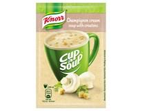 Knorr Cup a Soup Žampionová instantní polévka s krutony 40x15g