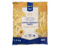 Metro Chef Hranolky Super Crunchy Fries mraž. 1x2,5kg