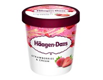 Häagen Dazs Zmrzlina Strawberry Cream mraž. 1x460ml
