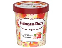 Häagen Dazs Zmrzlina Juicy White peach&Raspberry mraž. 1x460ml