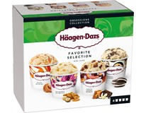 Häagen Dazs Mini Cups Zmrzlina Favorite Selection mraž. 4x95ml