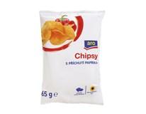 ARO Chips paprika 1x65g