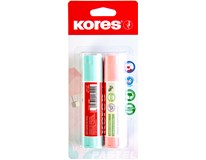 Lepidlo Kores Pastel 2 pack 1x20g