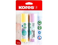 Lepidlo Kores Pastel 2 pack 1x40g