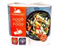 Harmony Kuchyňské utěrky Good for Food 2-vrstvé 2ks