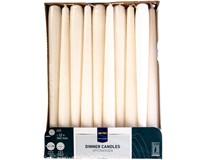 Svíčka Metro Professional 22x240mm slonovinová 60ks