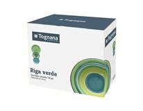 Jídelní sada Tognana Louise Riga Verde 18-dílná kamenina 1ks