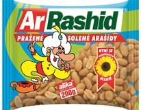 ArRashid Arašídy pražené solené 6x200g