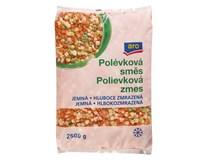 ARO Směs polévková jemná mraž. 1x2,5kg