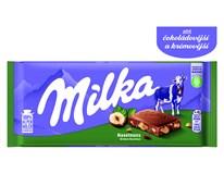 Milka oříšková 22x100g