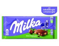 Milka Čokoláda celé lískové ořechy 17x100g