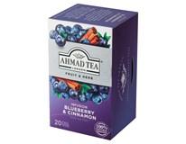 Ahmad Tea Infusion Ovocno-bylinná směs borůvka&skořice 20x2g (1x40g)