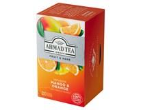 Ahmad Tea Fruit&Herb Infusion Ovocno-bylinná směs mango&pomeranč 20x2g (1x40g)