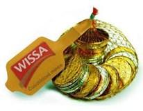 Mince z mléčné čokolády 1x100g síť