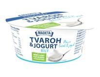 Madeta Jihočeský tvaroh s jogurtem bílý chlaz. 1x135g