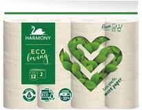 Harmony Eco Loving Toaletní papír 2-vrstvý 1x12ks