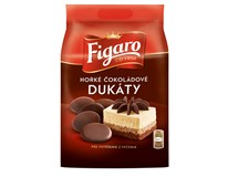 Figaro Dukáty čokoládové hořké na pečení 10x110g