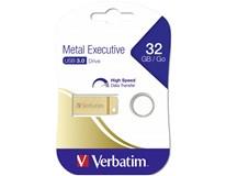 USB Metal Verbatim 32GB gold 1ks