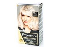 L'Oréal Préférence Barva na vlasy 10.21 světlá perlová blond 1x1ks