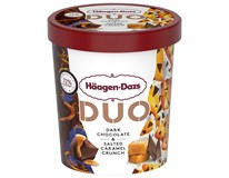 Häagen Dazs Duo Zmrzlina hořká čokoláda a slaný karamel mraž. 1x420ml