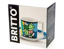 Šapo Bergner Britto Frog porcelán 90ml 1ks